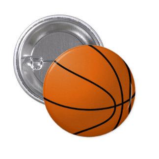 Botón de la bola de la cesta pins