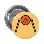 Botón de la bola de la silla de ruedas pin