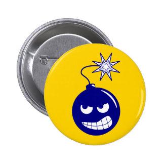 Botón de la bomba de la mutilación del proyecto pin redondo de 2 pulgadas