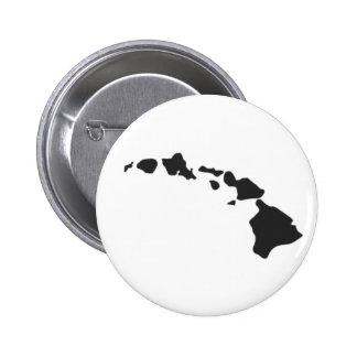 Botón de la cadena de la isla hawaiana pins