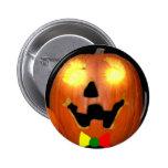 Botón de la calabaza de Halloween del Lithuanian Pin