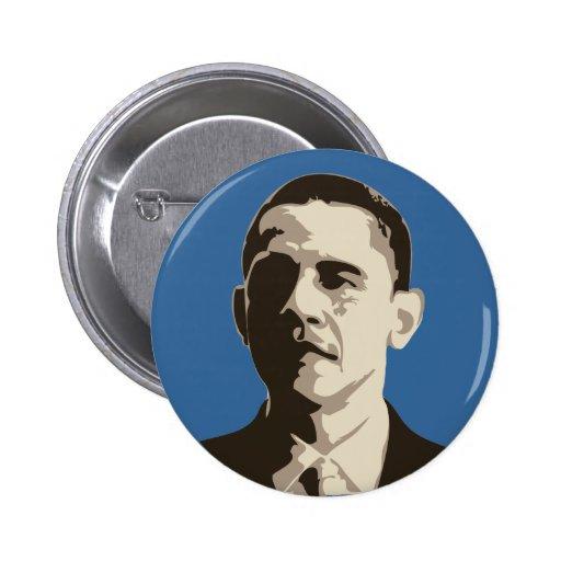 Botón de la campaña de Barack Obama Pin