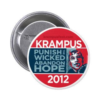 Botón de la campaña de Krampus 2012 Pin