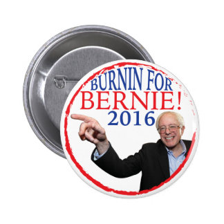 Botón de la campaña de las chorreadoras de Bernie Pin Redondo De 2 Pulgadas