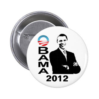 Botón de la campaña de Obama 2012 Pin Redondo De 2 Pulgadas