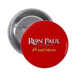Botón de la campaña de Ron Paul 2008 Pin