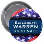 Botón de la campaña de senado de los E.E.U.U. del  Pins