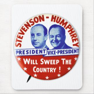 Botón de la campaña de Stevenson Humphrey del Alfombrilla De Ratón