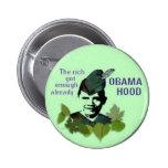 Botón de la capilla de Obama Pin Redondo De 2 Pulgadas