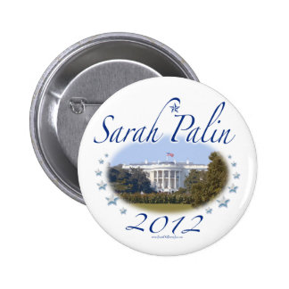 Botón de la Casa Blanca 2012 de Sarah Palin Pin