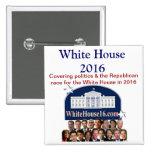 Botón de la Casa Blanca 2016 Pin