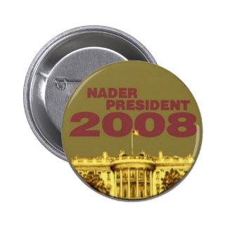 Botón de la Casa Blanca de Nader