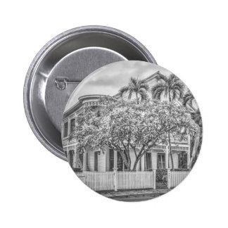 Botón de la casa de la concha del St. de Eaton Pin Redondo De 2 Pulgadas