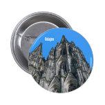 Botón de la catedral de Colonia Pin