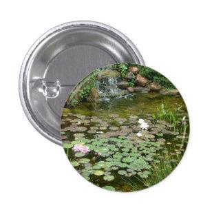 Botón de la charca de Koi Pin Redondo De 1 Pulgada