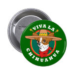 Botón de la chihuahua del La de Viva Pins