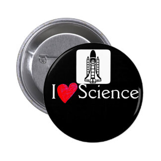 Botón de la ciencia del amor de Rocket I