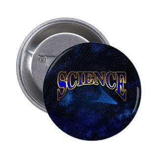Botón de la ciencia pins