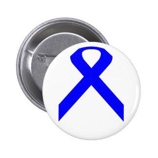 Botón de la cinta del cáncer de la pederastia y de pin