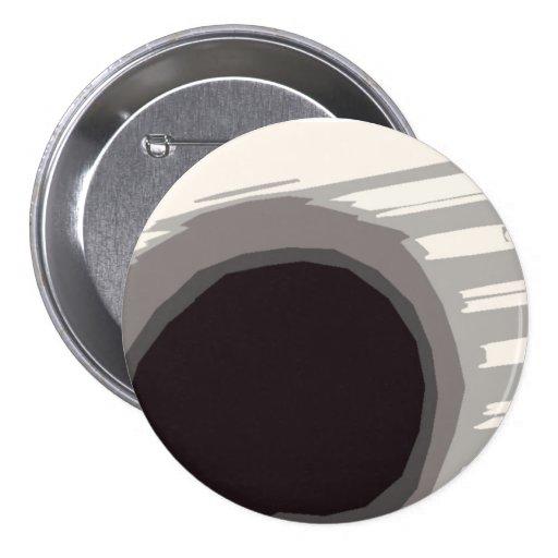 Botón de la circular de Blackhole Whitespace