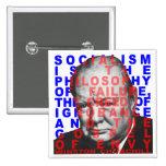Botón de la cita de Winston Churchill Pins