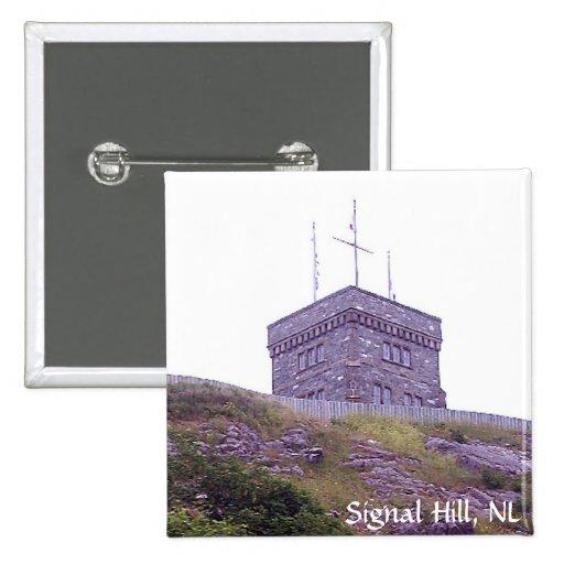 Botón de la colina de la señal