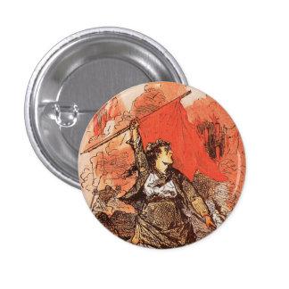 Botón de la comuna de París Pin Redondo De 1 Pulgada