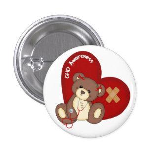 Botón de la conciencia de CHD Pins