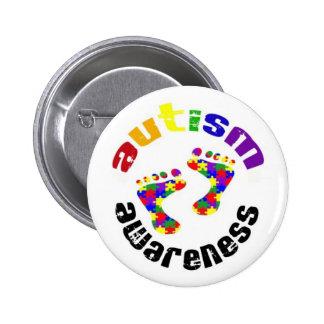 Botón de la conciencia del autismo pin