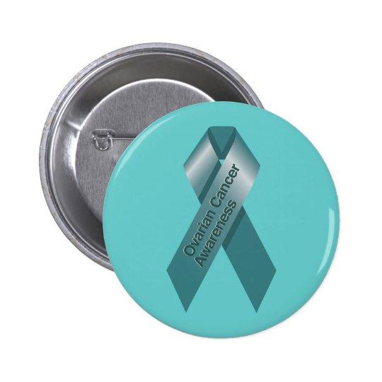 Botón de la conciencia del cáncer ovárico pin redondo de 2 pulgadas