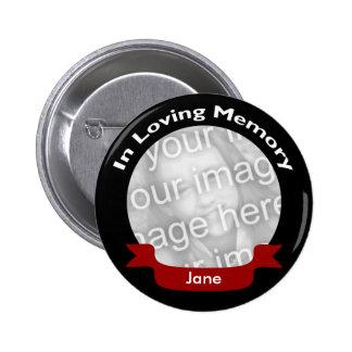 Botón de la conmemoración