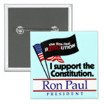 Botón de la constitución de Ron Paul Pin