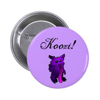 Botón de la criatura de Koozi Pin