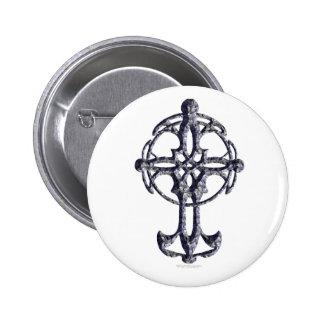Botón de la cruz céltica