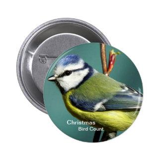 Botón de la cuenta del pájaro del navidad pins