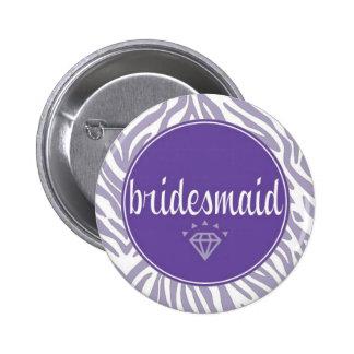 Botón de la dama de honor pin