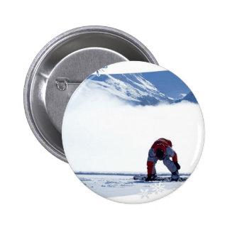 Botón de la diapositiva de la snowboard