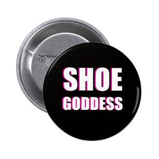 Botón de la diosa del zapato pin