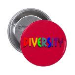 Botón de la diversidad pin