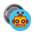 Botón de la diversión del robot de la abeja pins
