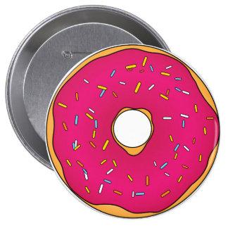 Botón de la D'oh-nuez del home run Pin Redondo De 4 Pulgadas