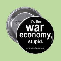 Botón de la economía de la guerra botones