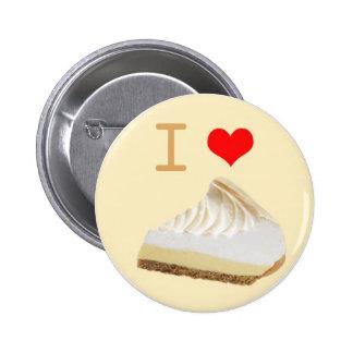 Botón de la empanada de I <3 Lemmon Pin
