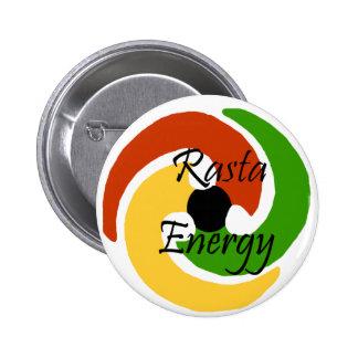 Botón de la energía de Rasta Pin