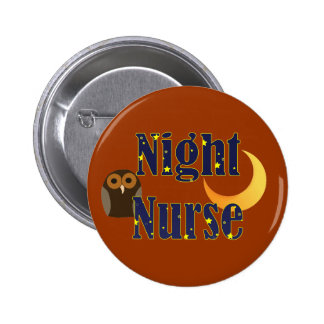 Botón de la enfermera de noche pins