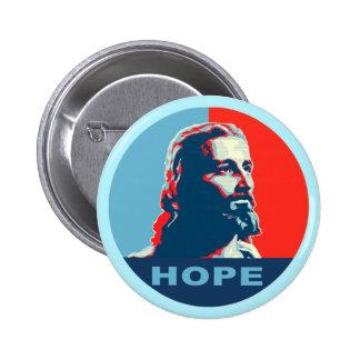 Botón de la esperanza de Jesús Pin