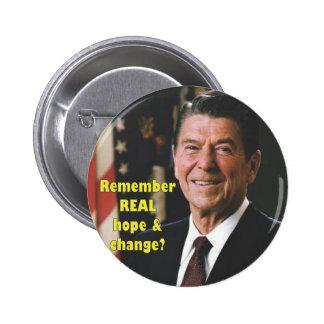 Botón de la esperanza de Regan