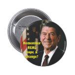 Botón de la esperanza de Regan Pins