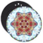 Botón de la estrella de Cristmas Pins