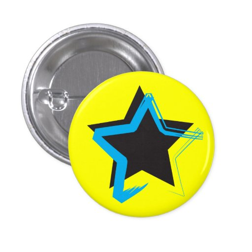 Botón de la estrella de la diva mini